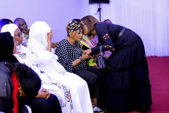 La fille de Gbagbo et Tina Glamour
