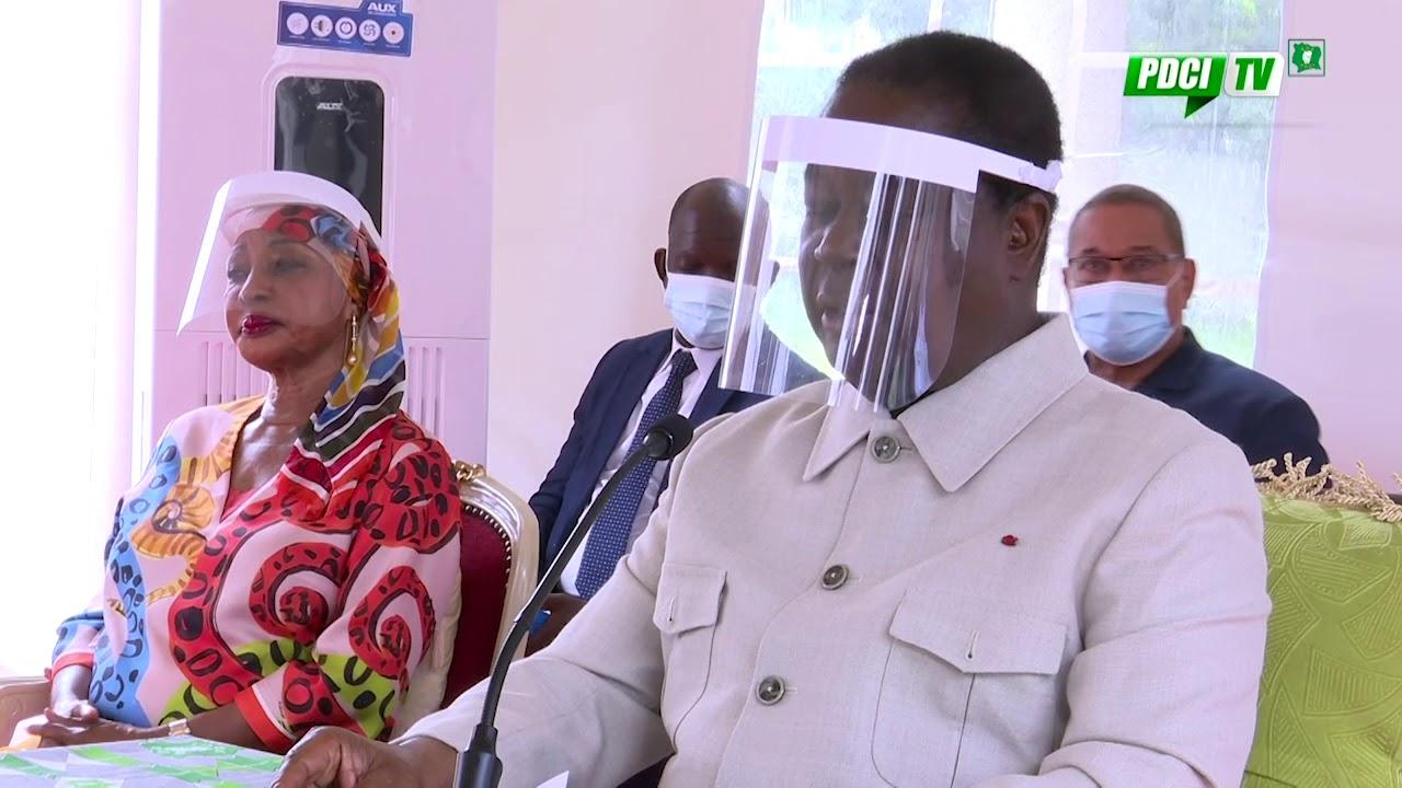 Henri Konan Bédié candidat du PDCI à la présidentielle en Côte d ...